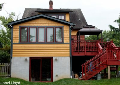 Mt. Olivet Bungalow and Addition After