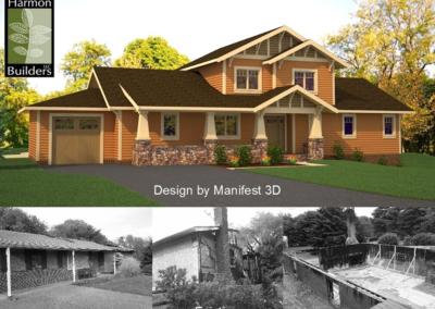Mt. Airy Craftsman Rebuild Concept