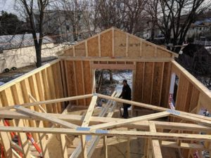 Framing a second story addition